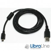 Кабель Cablexpert CCF-USB2-AM5P-6 mini USB2.0, A-папа / mini USB 5-пин 1,8 м феррит