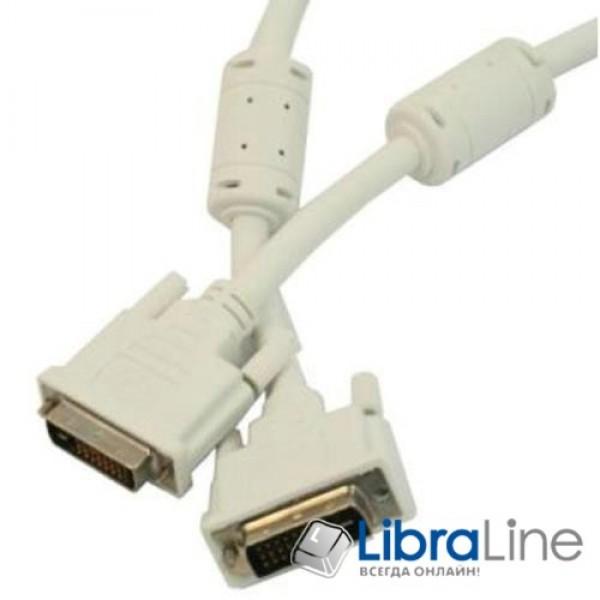 Кабель Cablexpert DVI - DVI Dual link 24/24, 1.8м  CC-DVI2-6C