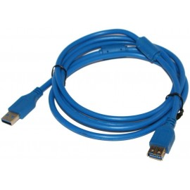 Кабель удлинитель ATcom USB 3.0 AM/AF 1.8 м blue