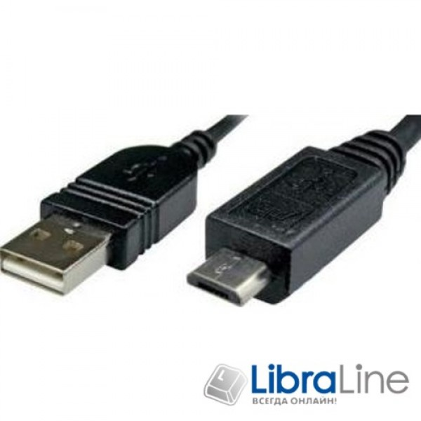 Maxxter UF-AMM-6 Кабель Micro USB2.0 AM/B mUSB, 1.8 м. c ферритовым фильтром