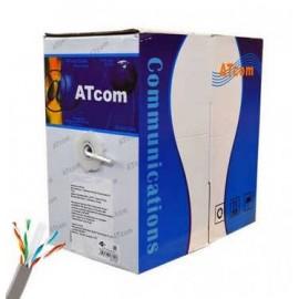 Витая пара Atcom Premium UTP Cat.5e (4*2*0,5 мм, CU, длина 305 м) медь