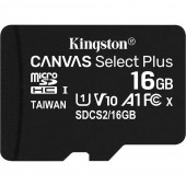 Карта памяти microSDHC 16Gb Kingston (SDCS/SDCS2/16GBSP) флеш память