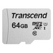 Карта памяти Transcend 64GB microSDHC C10 UHS-I R95/W45MB/s (TS64GUSD300S)