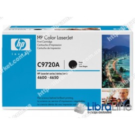 Купить C9720A, Черный картридж HP Color LaserJet C9720A