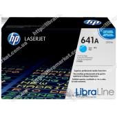 C9721A, HP 641A, Оригинальный лазерный картридж HP LaserJet, Голубой
