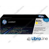 Лазерный картридж HP LaserJet, Желтый CB382A, HP 824A