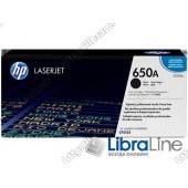 CE270A, HP 650A, Лазерный картридж HP LaserJet, Черный