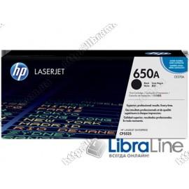 Купить CE270A, HP 650A, Лазерный картридж HP LaserJet, Черный