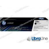 CE310A, HP 126A, Оригинальный лазерный картридж HP LaserJet, Черный