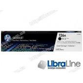 CE310AD, HP 126A, Упаковка 2шт, Оригинальные лазерные картриджи HP LaserJet, Черные