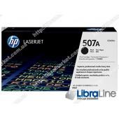 CE400A, HP 507A, Лазерный картридж HP LaserJet, Черный