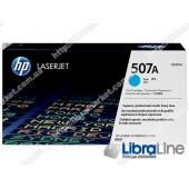 CE401A, HP 507A, Лазерный картридж HP LaserJet, Голубой