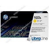 CE402A, HP 507A, Лазерный картридж HP LaserJet, Желтый