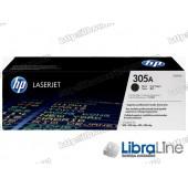 CE410A HP 305A, Оригинальный лазерный картридж HP LaserJet, Черный