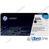 CE740A, HP 307A, Лазерный картридж HP LaserJet, Черный