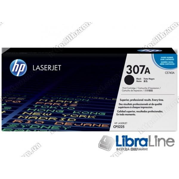 Лазерный картридж HP LaserJet, Черный CE740A, HP 307A