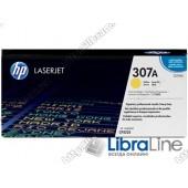Лазерный картридж HP LaserJet, Желтый CE742A, HP 307A