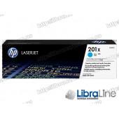 Лазерный картридж HP LaserJet увеличенной емкости, Голубой CF401X HP 201X