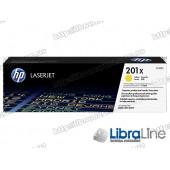 Лазерный картридж HP LaserJet увеличенной емкости, Желтый CF402X HP 201X