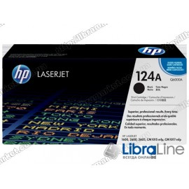 Черный картридж HP Color LaserJet Q6000A