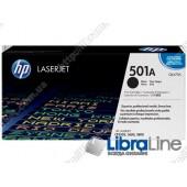 Q6470A, HP 501A, Оригинальный лазерный картридж HP LaserJet, Черный