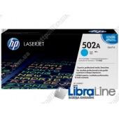 Q6471A, HP 502A, Оригинальный лазерный картридж HP LaserJet, Голубой