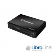Кардридер Transcend USB 3.0 Black TS-RDF8K