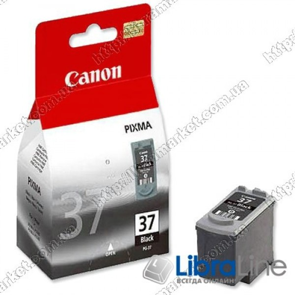 2145B005 Картридж CANON PG-37Bk iP1800 / 2500 Black