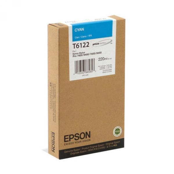 C13T612200 Картридж EPSON Stylus Pro 7450/7880/9450/9880 Cyan