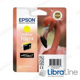 Картридж EPSON Stylus Photo R1900 Yellow C13T08744010