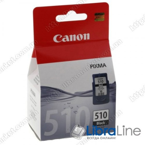 2970B001 / 2970B007 Картридж CANON PG-510Bk MP240 / 250 / 260 / 270 / 480 / 490 / MX320 / 330 Black