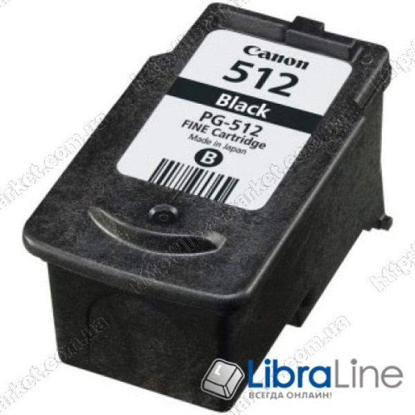 2969B007 Картридж CANON PG-512Bk MP240 / 260 Black
