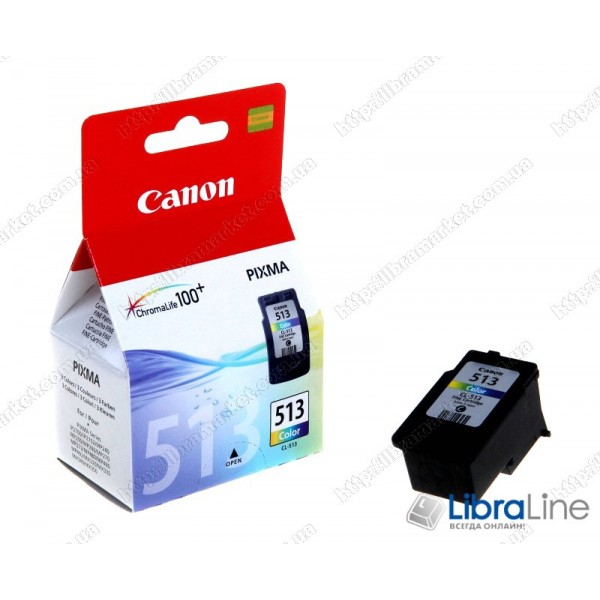 Картридж CANON CL-513 MP260 Color 2971B007