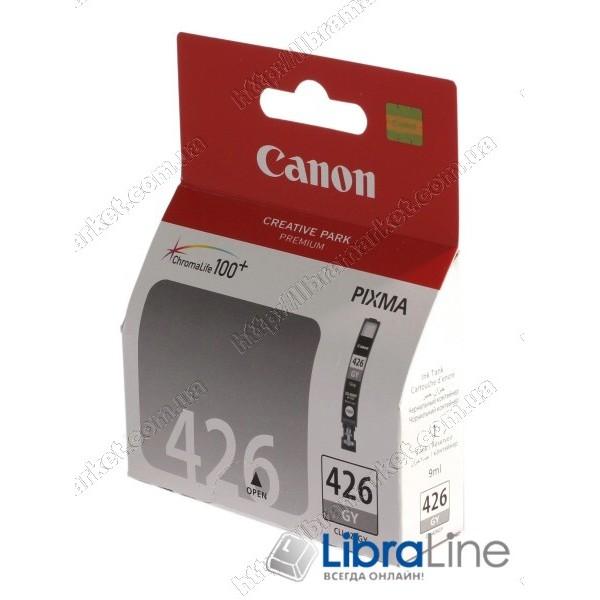 Картридж CANON CLI-426 iP4840 / MG5140 / MG5240 / MG6140 / MG8140 Grey 4560B001