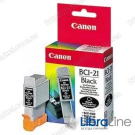 0954A002 Чернильница ( картридж ) CANON BCI-21Bk BJC-2xxx / 4xxx / 5xxx / C20 / 30 / 50 Black
