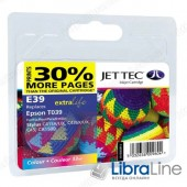 110E003913 G065658  Картридж EPSON C41 / C43 / C45 / CX1500 Jet Tec Colour E39