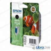 C13T02640110 Картридж TO26 EPSON Stylus Photo 810 / 830 / 925 / 935 Black