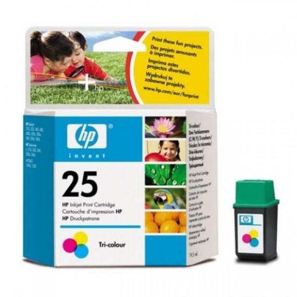 Струйный картридж НР, Трехцветный 51625AE, HP 25
