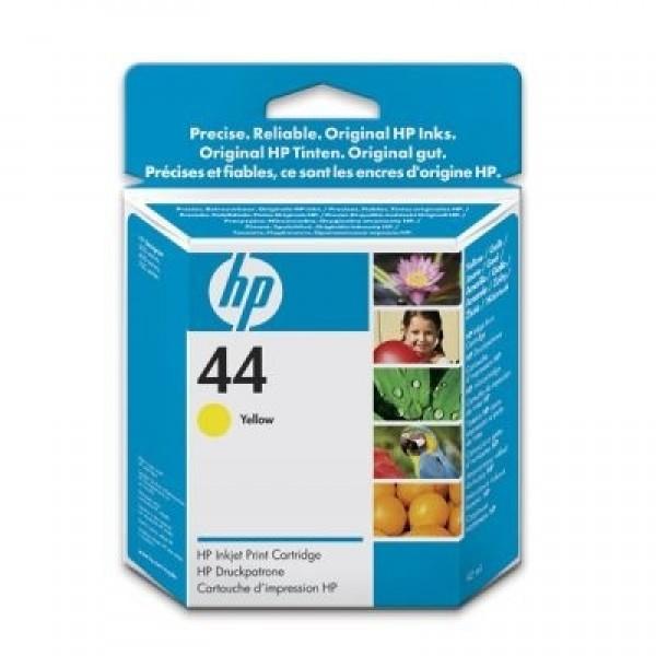 Купить 51644YE, HP 44, Струйный картридж HP, Желтый