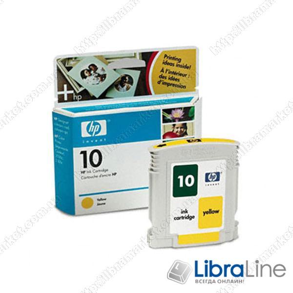 Картридж HP №10 DJ 2000 / 2500 Yellow C4842A