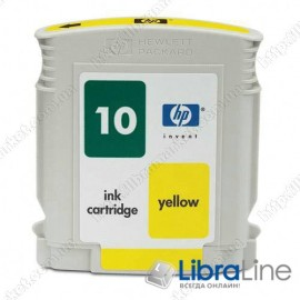 C4842A Картридж HP №10 DJ 2000 / 2500 Yellow