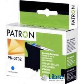 CI-EPS-T07324-C3-PN Картридж EPSON Stylus C79 / 110, CX3900 / 4900 / 5900 / 6900F / 7300 / 8300 / 9300F, TX200 / 209 / 210 / 219 / 400 / 409 / 410 / 419 / 550, Office T30 / T40W, TX300F / 510 / 550 / 600FW PATRON Cyan