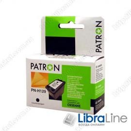 Картридж HP Deskjet 5943 / 6943 / 6983 / D4163, Officejet 6313 / H470 / H470b / H470wbt / K7103, Photosmart 2573 / 8053 / C4183 / D5063 / D5163 (13 мл) PATRON C9364HE  Black CI-HP-C9364HE-B-PN