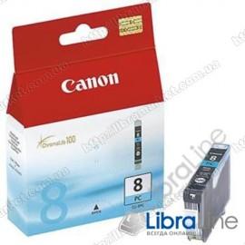 Чернильница картридж CANON CLI-8PC iP6600 / 6700D / Pro9000 Photo Cyan 0624B024