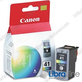 Картридж CANON CL-41 iP1600 / 1700 / 1800 / 2200 / 2500 / 6210D / MP150 / 170 / 450 Color 0617B025 / 06170001