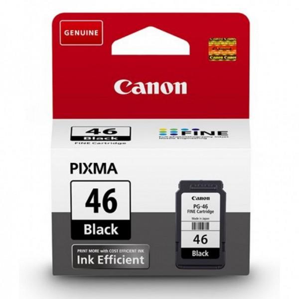 Картридж CANON PG-46 PIXMA E404/E464/E484 Black 9059B001