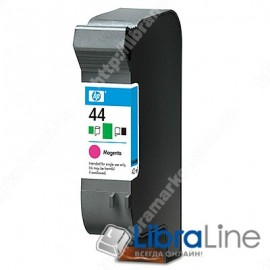 51644ME, HP 44, Струйный картридж, Пурпурный