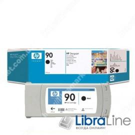 C5059A, HP 90, Струйный картридж DesignJet, 775 мл, Черный