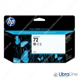 C9374A, HP 72, Струйный картридж HP, 130 мл, Серый