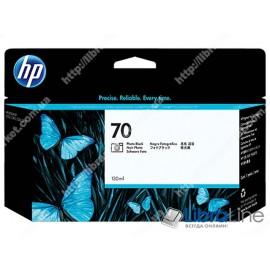 C9449A, HP 70, Струйный картридж DesignJet, 130 мл, Черный для фотопечати